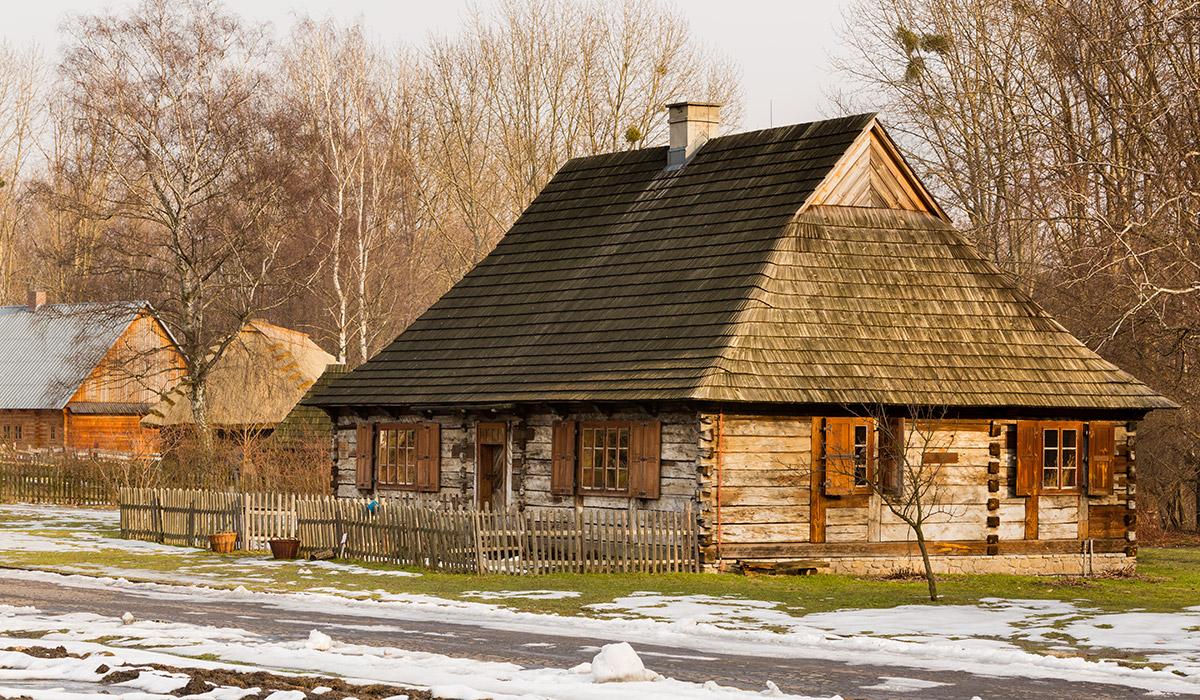 Chałupa ze Strzemieszyc - Skansen w Chorzowie