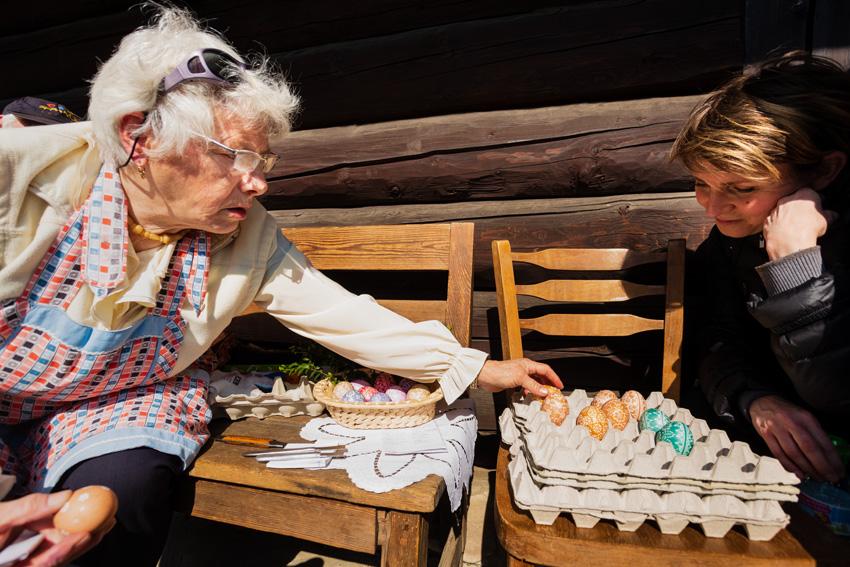 Konkurs na najpiękniejsze jajko wielkanocne - skansen Chorzów