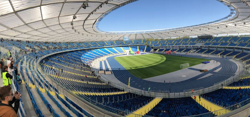 Panorama Stadionu Śląskiego