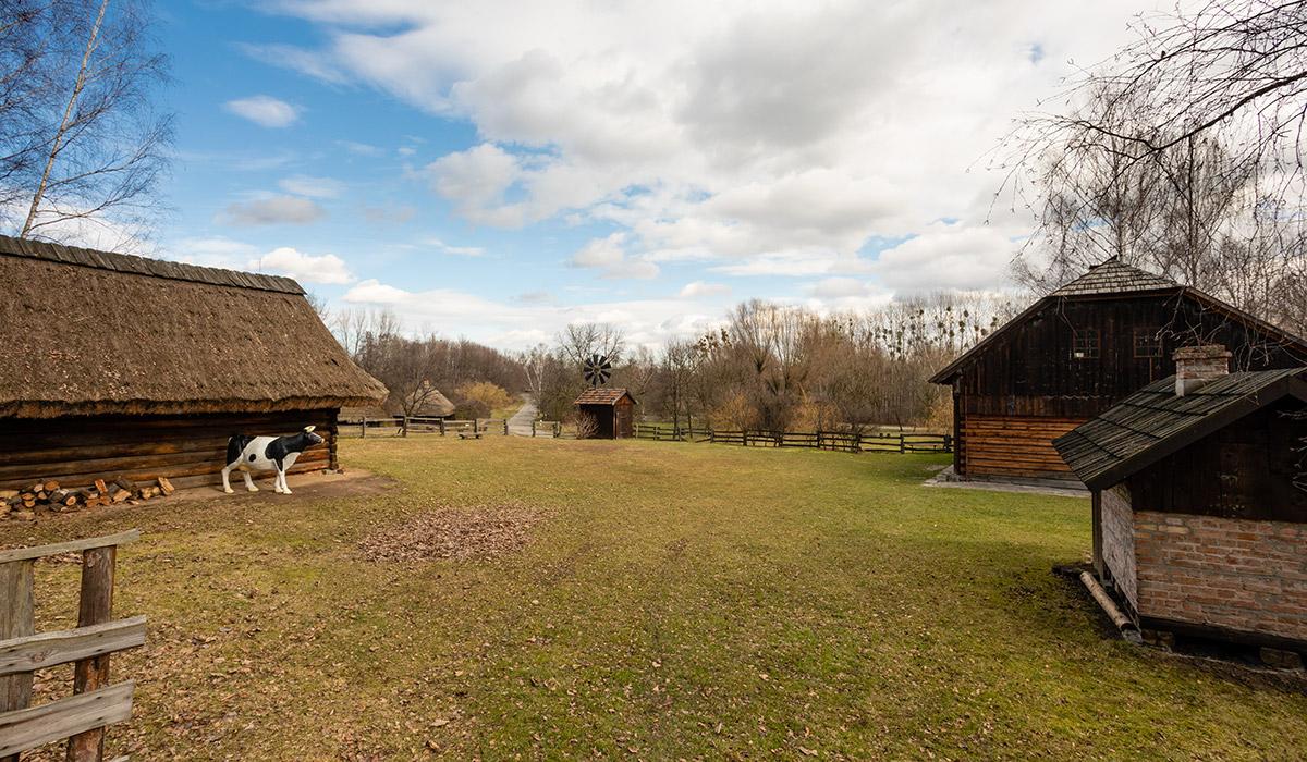 Zagroda z Goleszowa - wynajem terenu - skansen Chorzów