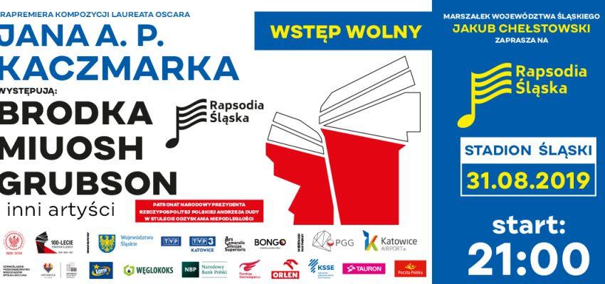 Rapsodia Śląska – widowisko muzyczno-multimedialne